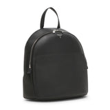 Backpack with front pocket, Cachemire/Smooth##Black