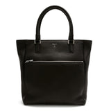 Tote Bag vertical, Cachemire Silk ##Black