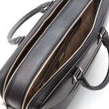 Double briefcase with zip, Evolution ##Black