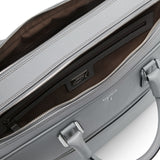 Double briefcase with zip, Evolution ##Cement