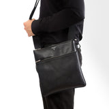 Small Envelope Bag with zip ##Black