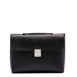 Slim Briefcase with Lock, Evolution ##Black
