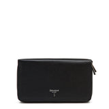 Travel Pochette with Double Zip, Evoluzione  ##Black