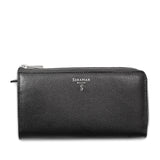 Single zip wallet 3 gussets, Evolution ##Black