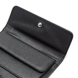Flap French wallet, Evolution ##Black