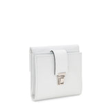 Small Flap wallet, Evolution ##Optical White
