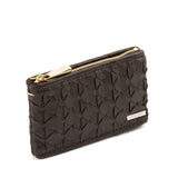 Double Zip Key Case, Mosaico ##Dark Brown