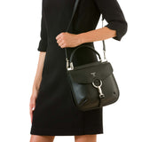 Federica bag, Smooth ##Black