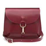 Arianna bag, Smooth ##Claret