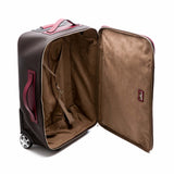 Soft Trolley 2 wheels, Stepan/Evolution ##Choco/Claret