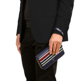 Travel Pochette with Double Zip, Evolution##Stripes