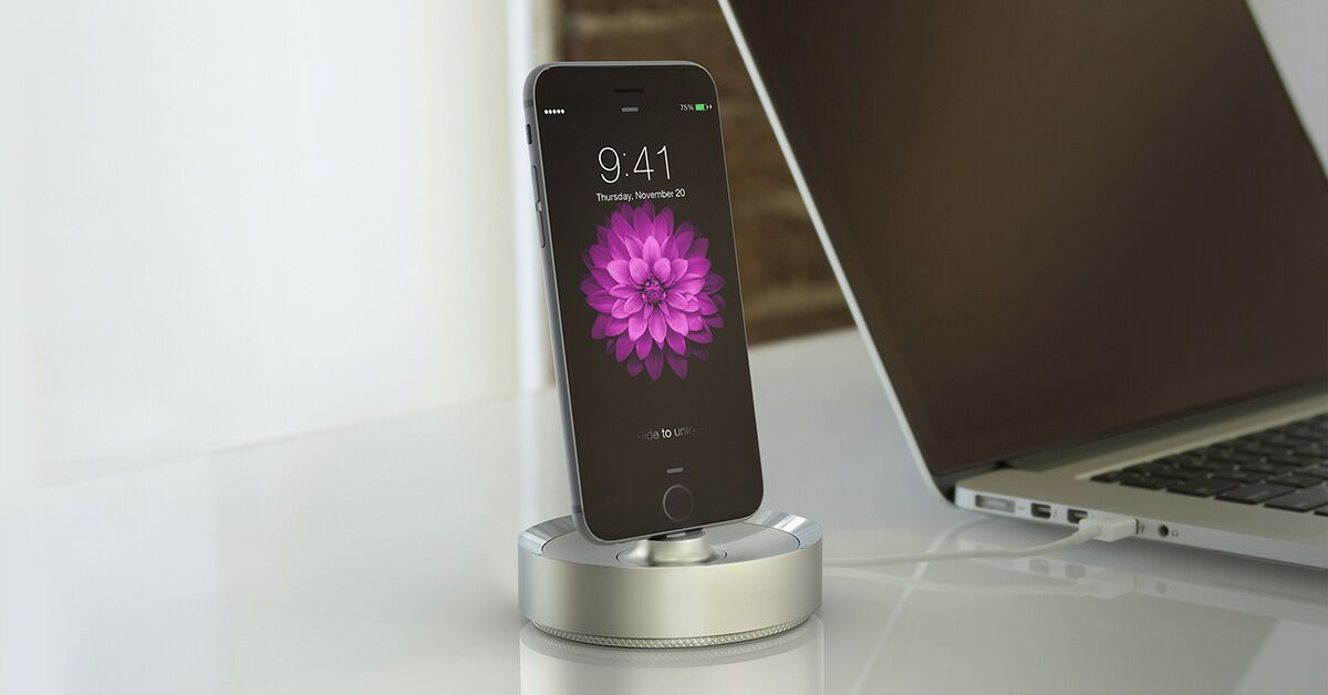 BEVL iPhone 6 and iPhone 6 Plus Dock