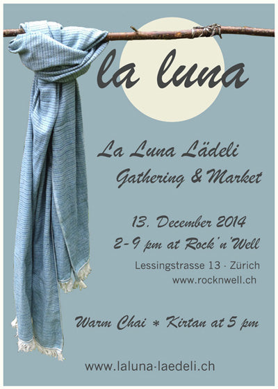 Flyer First La Luna Lädeli Gathering