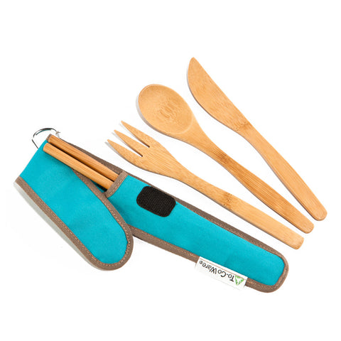 RePEaT Reusable Bamboo Utensil Sets