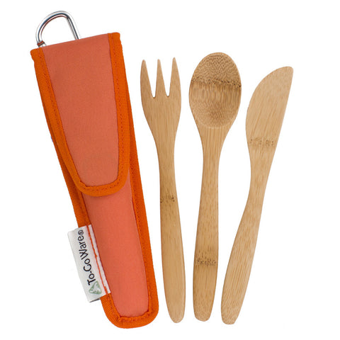 KIDS Reusable Bamboo Utensil Sets