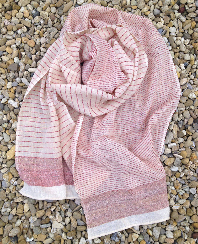 Cotton & Tussar Silk Scarf