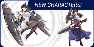 Meet Azur Lane: Crosswave ship girls Atago, Ark Royal and Aoba!