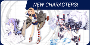 Meet Laffey, Unicorn & other ship girls from Azur Lane: Crosswave!