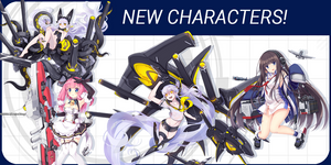 Introducing Long Island, two Sirens and other ship girls from Azur Lane: Crosswave!