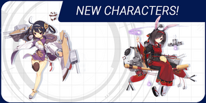 Meet 6 New Characters from Azur Lane: Crosswave!