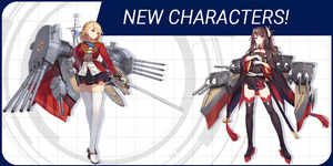 Introducing 5 support characters from Azur Lane: Crosswave!