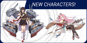 Meet Rodney, Lexington, and 3 more ship girls from Azur Lane: Crosswave!