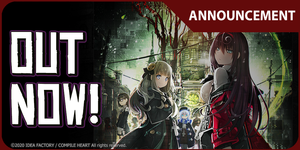 Death end re;Quest 2 Out Now on PS4™!