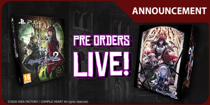 Death end re;Quest 2 Pre-orders Now Live!