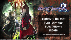 Death end re;Quest 2 Joins Steam & PS4 In 2020!