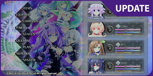 Neptunia ReVerse - More Characters and Systems Details!