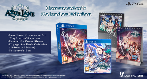 Azur Lane: Crosswave - Commander's Calendar Edition