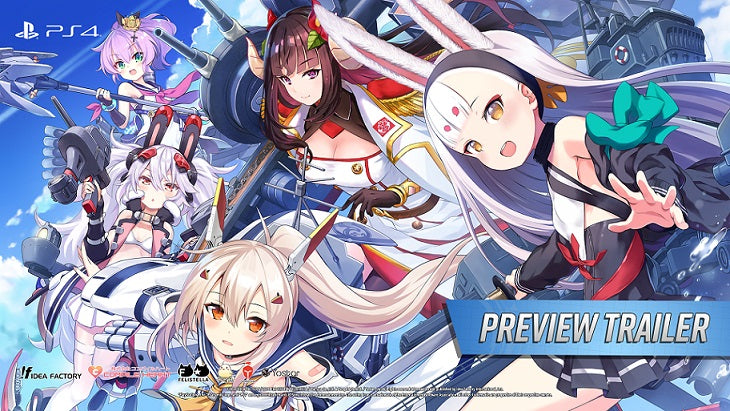 Azur Lane: Crosswave Preview Trailer