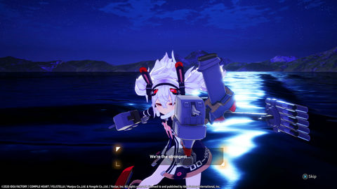 Azur Lane: Crosswave - Laffey