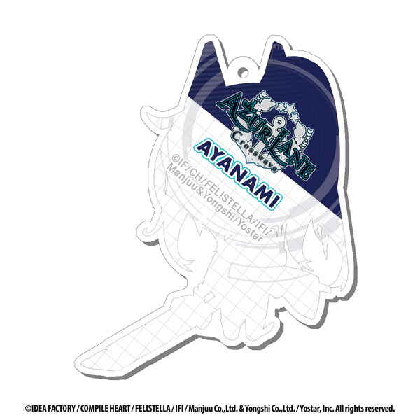Azur Lane Acrylic Charms - 2 inch - Ayanami