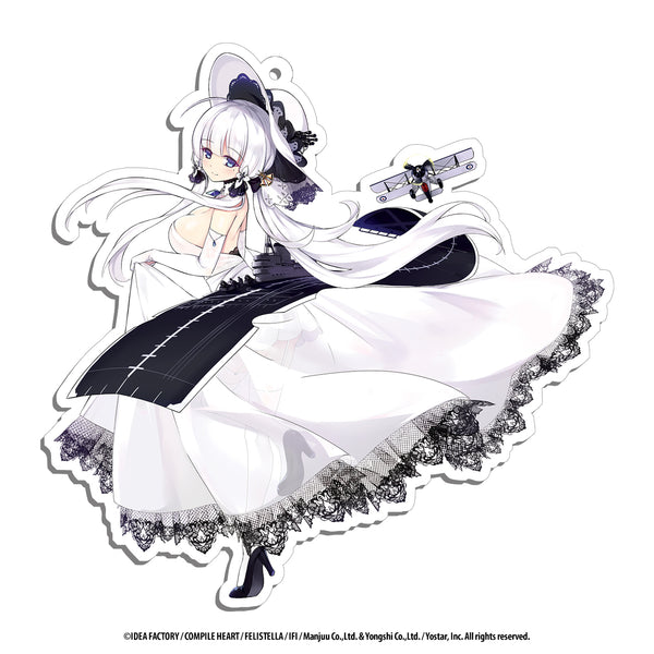 Azur Lane Acrylic Charms - 3 inch - Illustrious