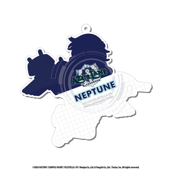 Azur Lane Acrylic Charms - 3 inch - Neptune