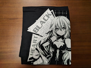Goddess T-Shirt: Black Heart