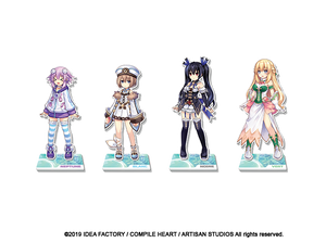 Super Nep Acrylic Standee -  Noire