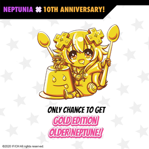 Chibi Neptunia Standees - Blind Set Of 3 - Neptunia 10th Anniversary