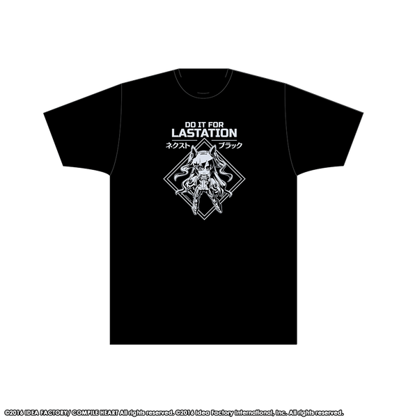 NEXT Black T-Shirt - Lastation