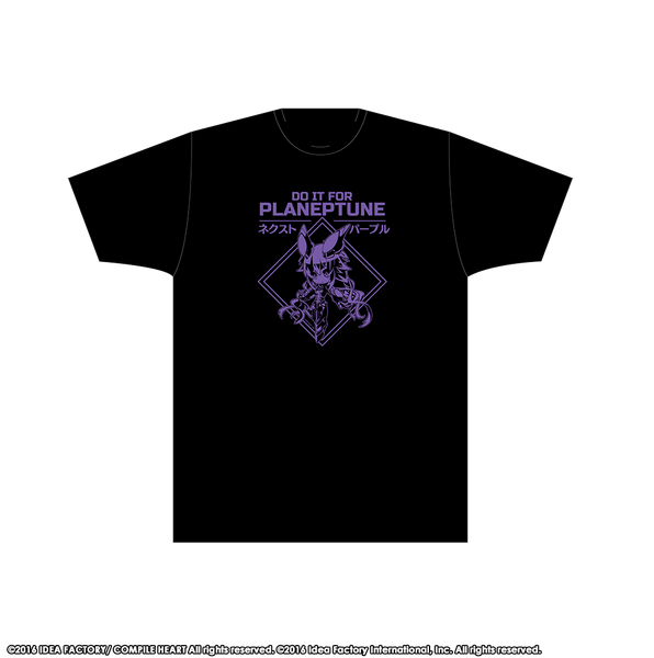NEXT Purple T-Shirt - Planeptune