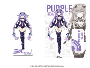 Goddess Acrylic Standee - Purple Heart