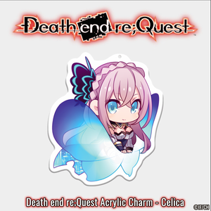 Death end re;Quest Acrylic Charms - 3 inch - Celica