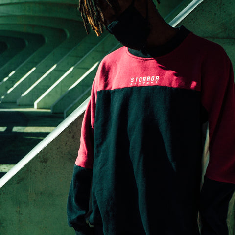 AW18 CONTROL Panel Sweatshirt (Red)
