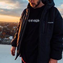 AW18 - ENDURANCE Winter Coat (Black)