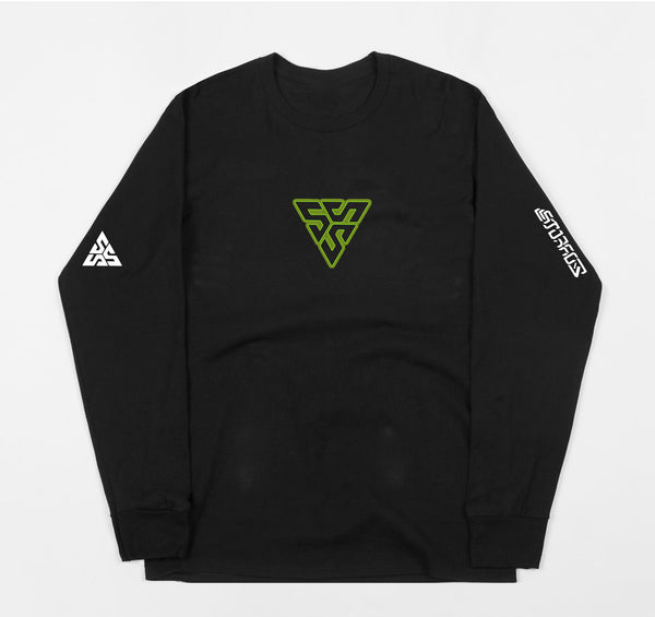 * Alien Acid Long Sleeve (Black)