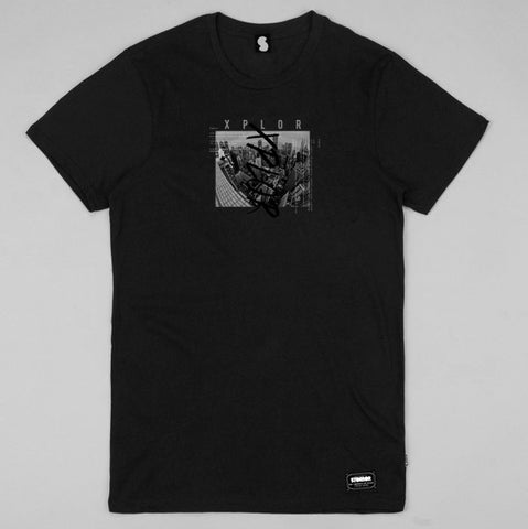 Seoul RCA Long Fit Tee (Black)