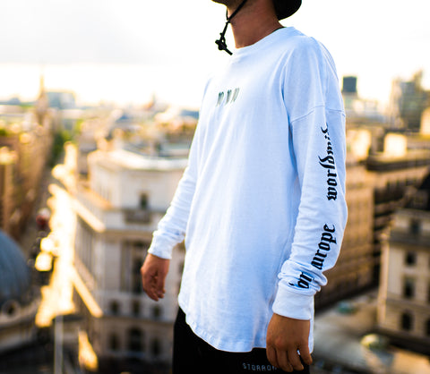 World Tour Long Sleeve T-Shirt (White)