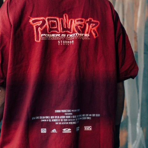 Oversize POWER T-Shirt (Red)