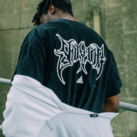 * Heavy Metal Oversize T-Shirt (Black)